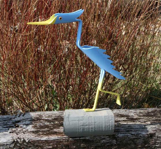 Pvc birds gone wild for How to make pvc pipe birds
