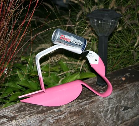 Flamingos Gone Wild. . .   It's 5 o'clock Somewhere